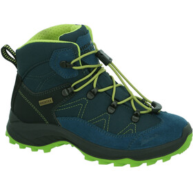 High Colorado Vilan Mid High Tex Wanderschuhe Kinder blau-grün